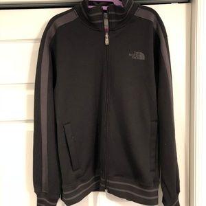Black & Grey North Face Jacket